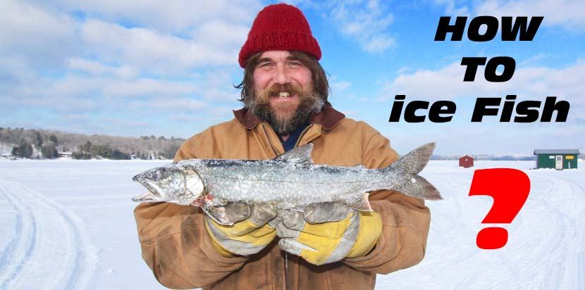 How to ice fish