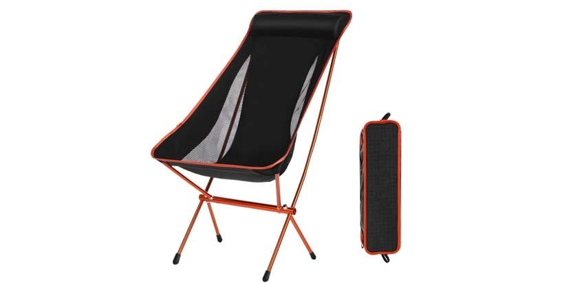 Domary Outdoor Folding Camping Chairs Portable