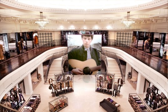 Burberry flagship store on Regent Street