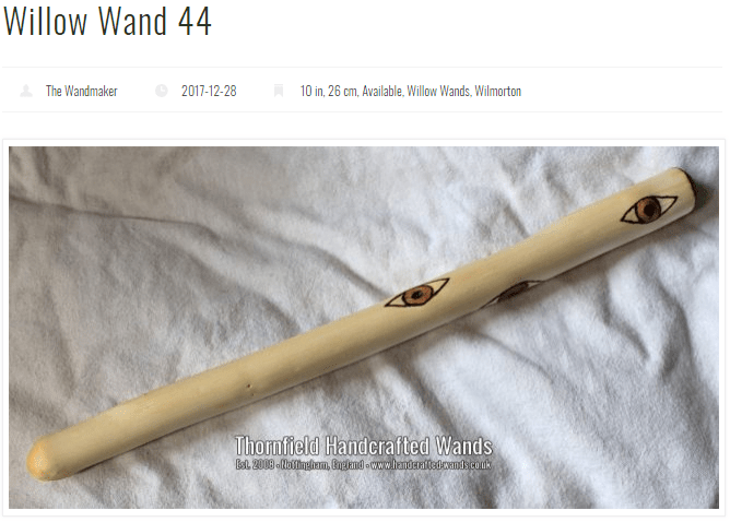 Thornfield Handcrafted Wands
