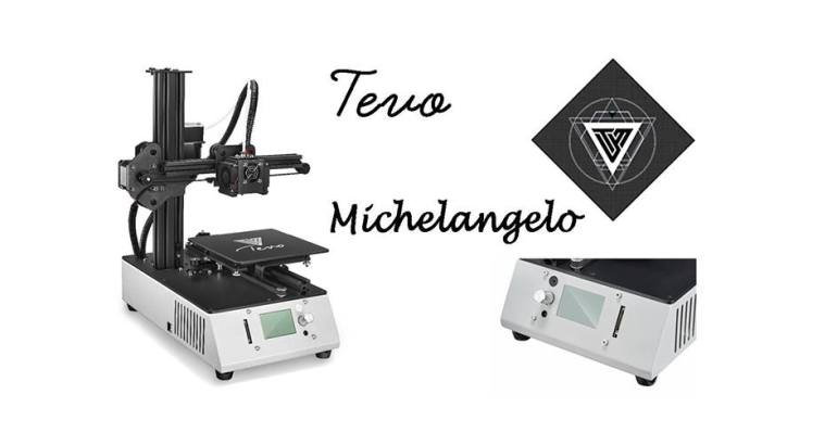 Tevo Michelangelo 3D Printer Just Released