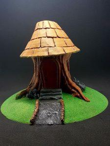 Tree Stump House STL