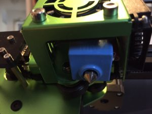 all-metal hotend installed on Tevo Tornado
