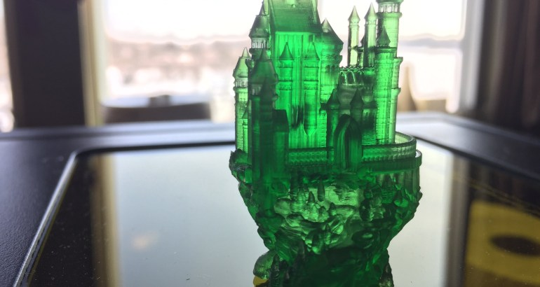 anycubic photon-castle