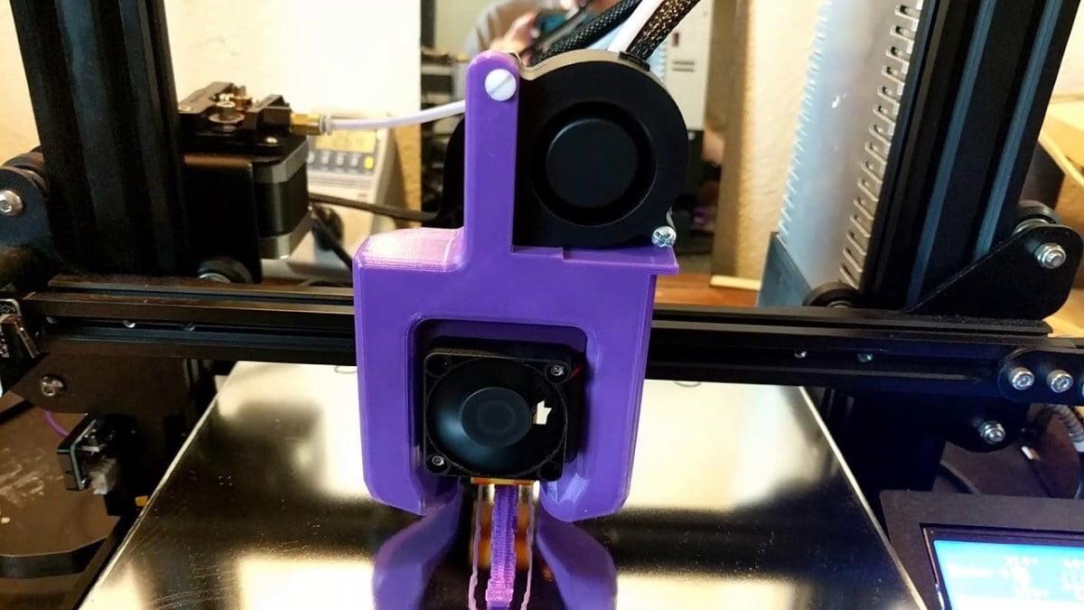 picture regarding Ender 3 Printable Upgrades titled Ender 3 Modding! Printables Model! - Inov3D