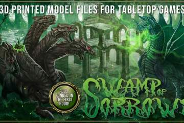 Aether Studios – Swamp Of Sorrows Kickstarter