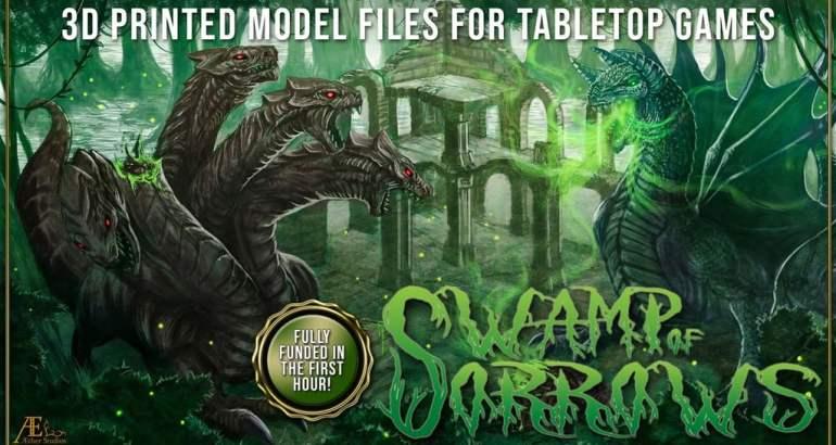 Aether Studios - Swamp Of Sorrows Kickstarter