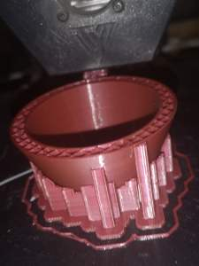 3DQF Pearl Plum PLA Filament - almost with a metallic effect