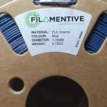 Filamentive Cosmic Blue PLA-With Metallic Flakes