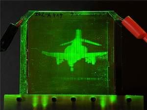 Vídeo holográfico 3D começa a virar realidade