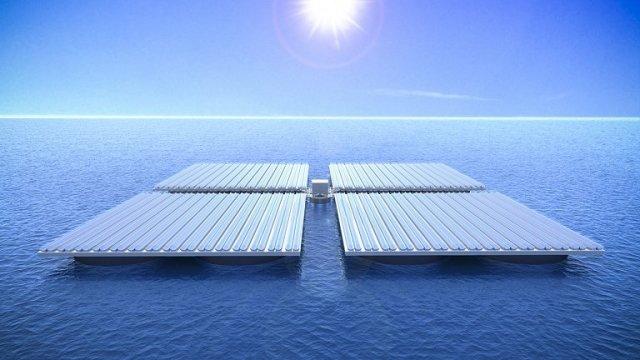 Fazendas solares no oceano podem neutralizar todo o CO2 emitido