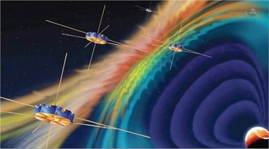 NASA vai procurar portais magnéticos em torno da Terra