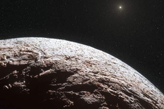 Planeta-anão Makemake não tem atmosfera