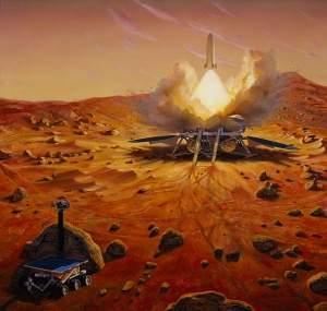 NASA anuncia novo robô e missão tripulada a Marte