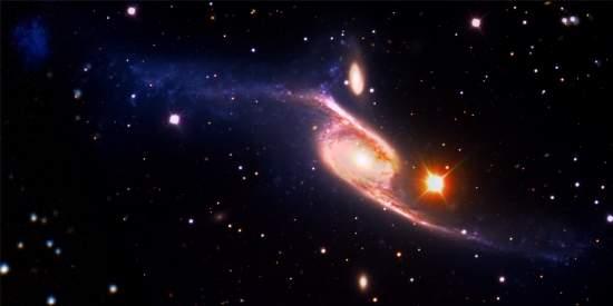 Brasileiras encontram maior galáxia espiral já vista