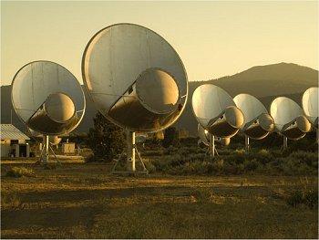 Falha primeira busca por sinais alienígenas em estrela piscante