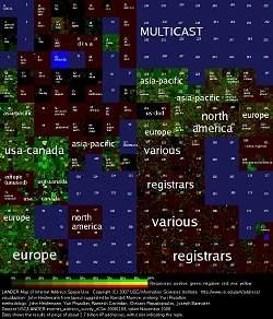 Censo da Internet gera primeiro mapa completo da rede mundial
