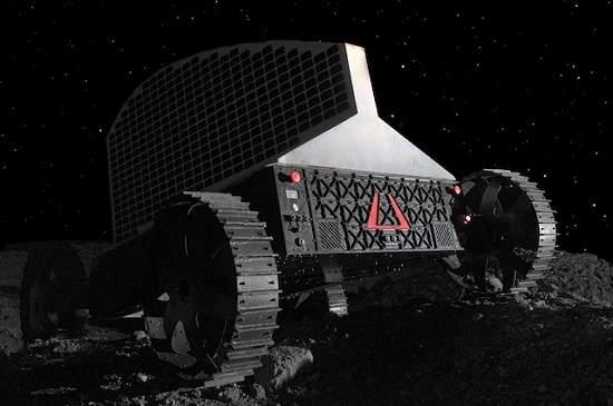 Robô vai procurar água na Lua