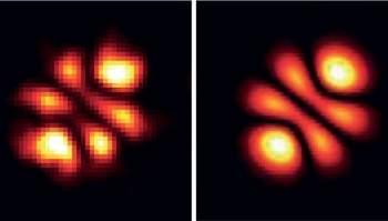 Uma descoberta inesperada foi que o próprio formato circular da célula funcionou como uma lente, diminuindo o nível de energia necessário para emissão do laser. [Imagem: Gather/Yun]