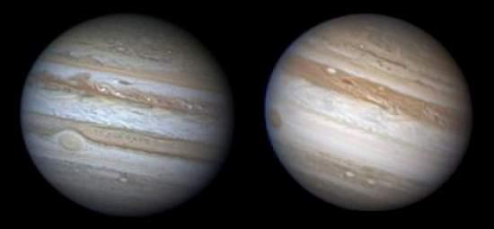 Jupiter perdeu uma faixa gigantesca em seu hemisfério sul