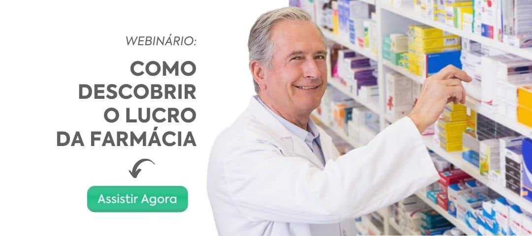 Webinario Como descobriro o lucro da farmacia - Sem traumas: Passo a passo de como fazer a troca de sistema para farmácia