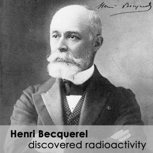 Foto do Sr. Henri Bequerel , descrobridor da radioatividade