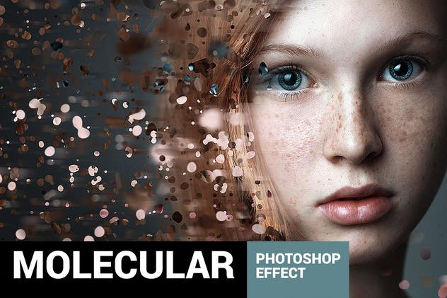 Molecular – Photoshop Action Free Download