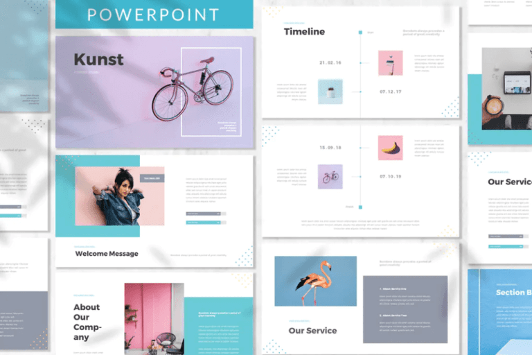Kunst – Business PowerPoint Template FREE Download