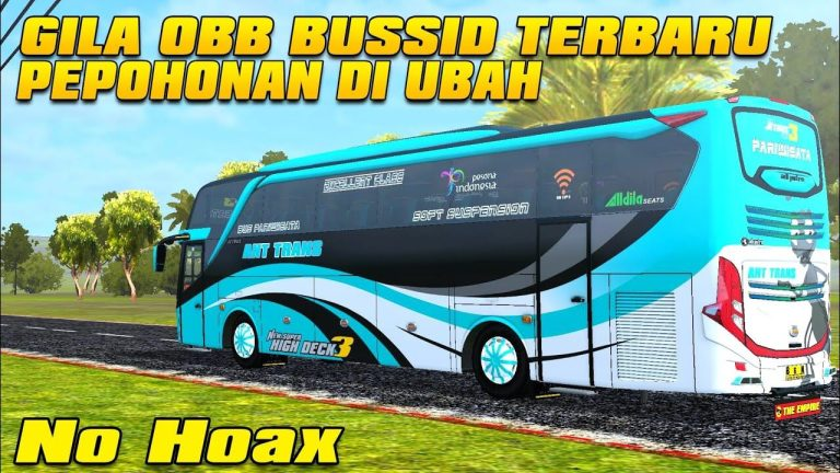 BUSSID Obb V3.3 Sound Srigala + Skin Traffic & Graphic Mod FREE