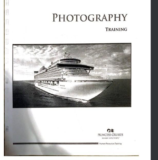 Princess Cruises Photography Training