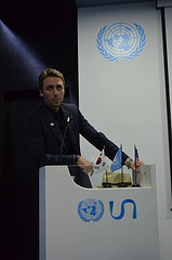 Philippe Cousteau Jr. at the USA Pavilion, Yeosu Expo 2012
