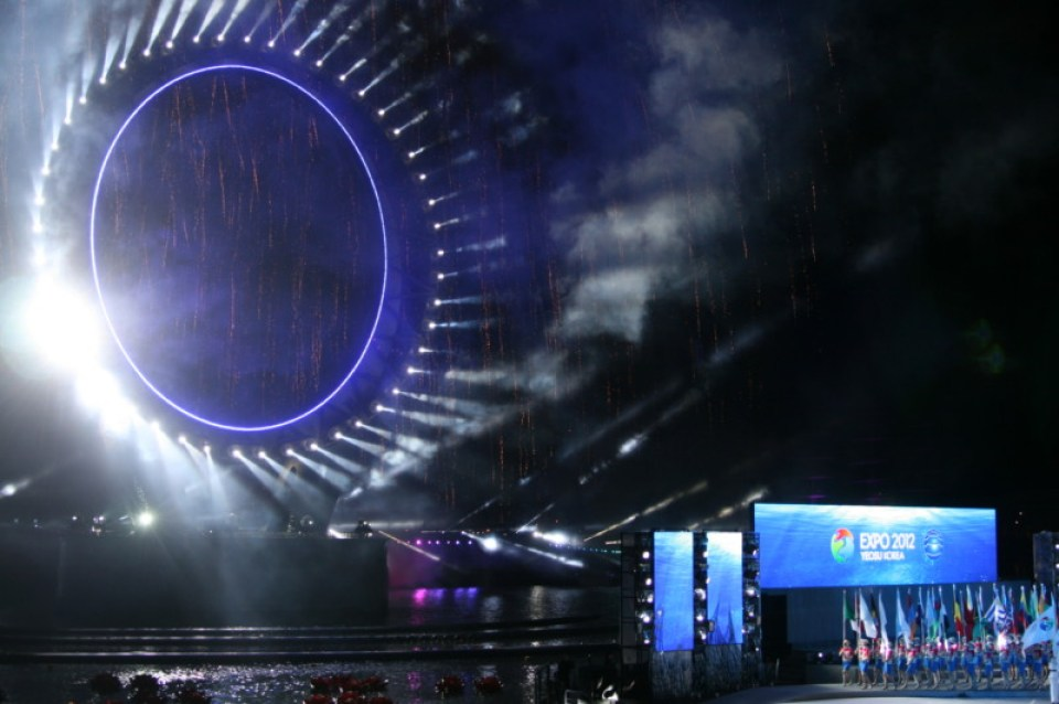 Big O at Yeosu Expo 2012