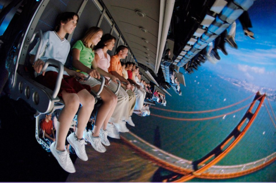 Soarin' Over California (C) Disney