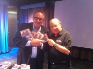Bob Rogers and Marty Sklar. Photo from BRC Imagination Arts.