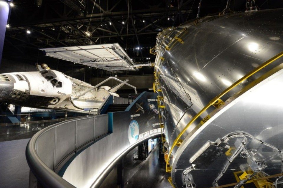 Space Shuttle Atlantis. Courtesy Kennedy Space Center Visitor Complex