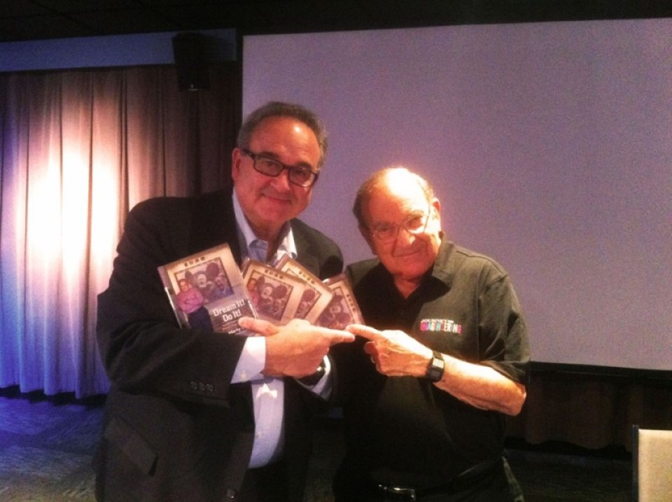 Bob Rogers and Marty Sklar. Courtesy BRC Imagination Arts