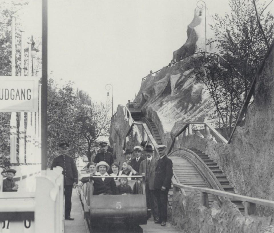 Rutschebanen anno 1914