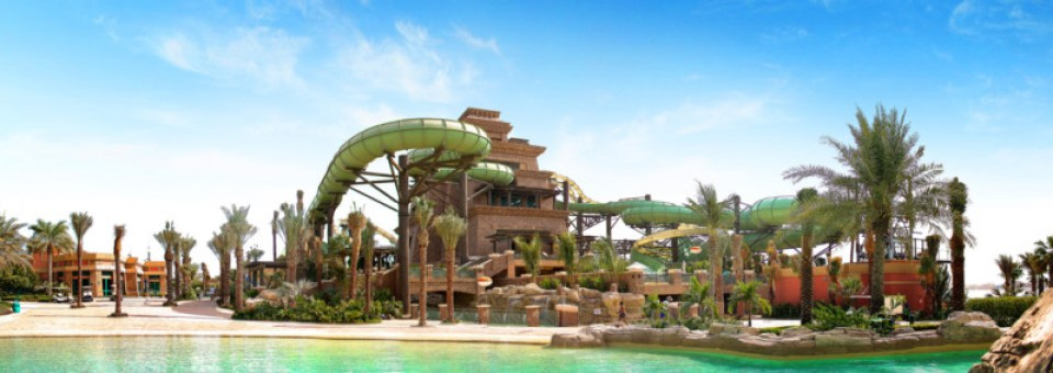 Tower of Poseidon Aquaventure Waterpark Atlantis The Palm