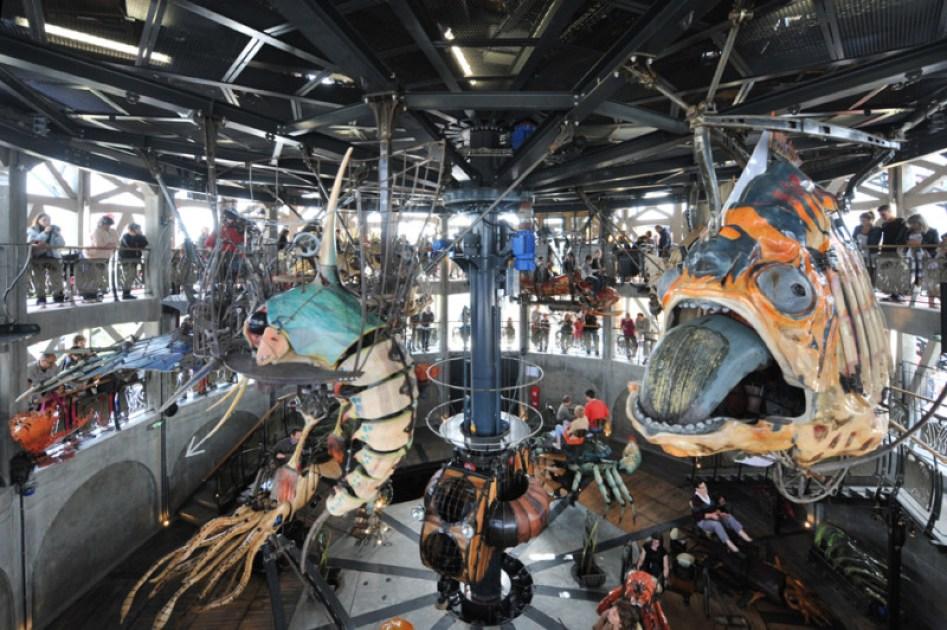 Marine Worlds Carousel