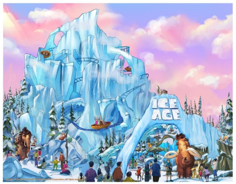 20th Century Fox World - Ice Age