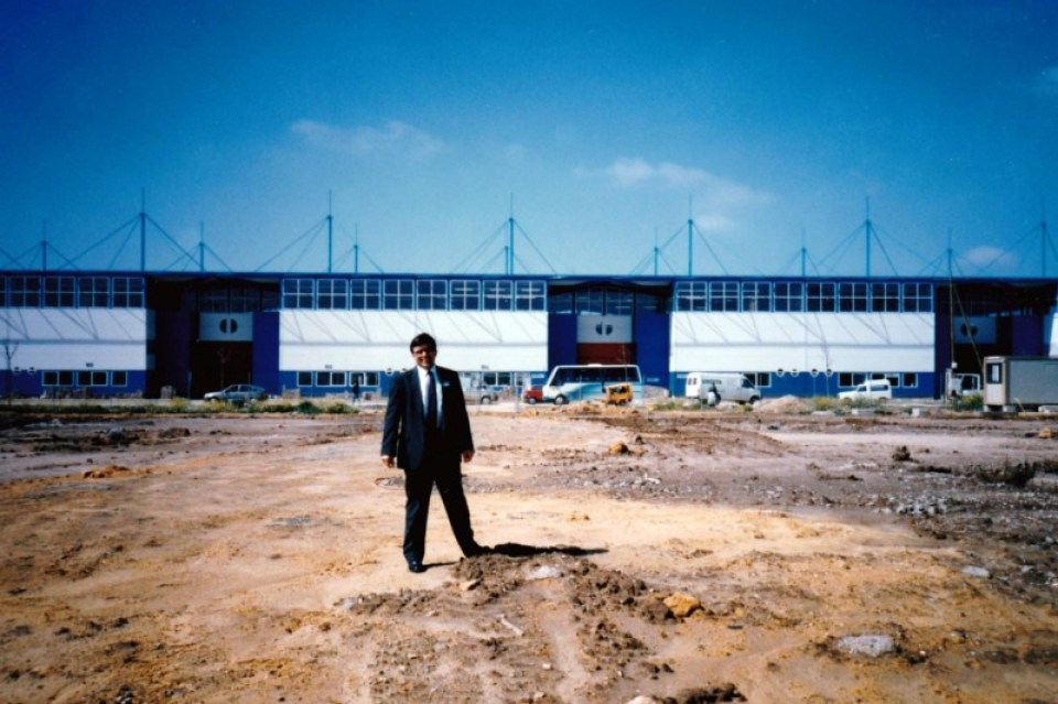 James Ogul on the site of Seville Expo 92