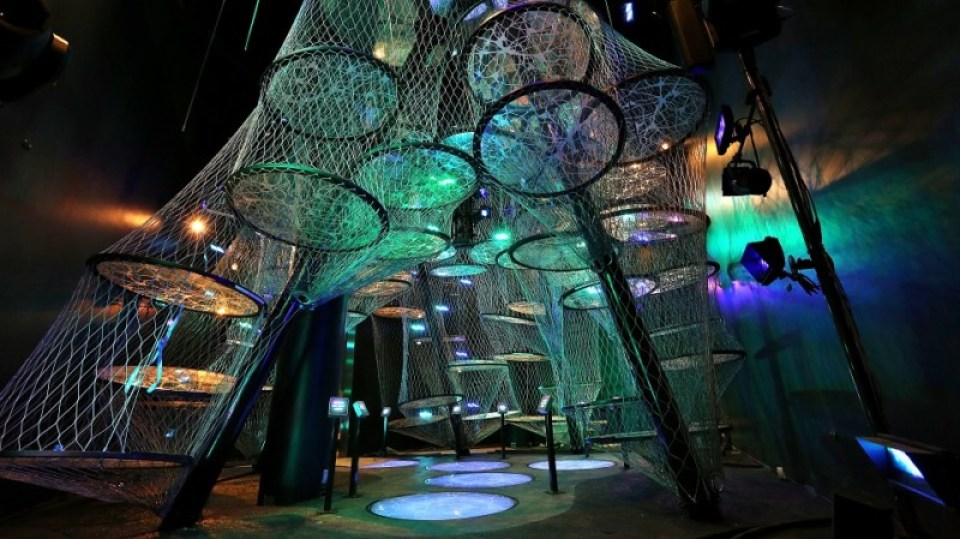 Press_TheFranklinInstitute_Nicholas and Athena Karabots Pavilion_YourBrain Neural Climb (2)