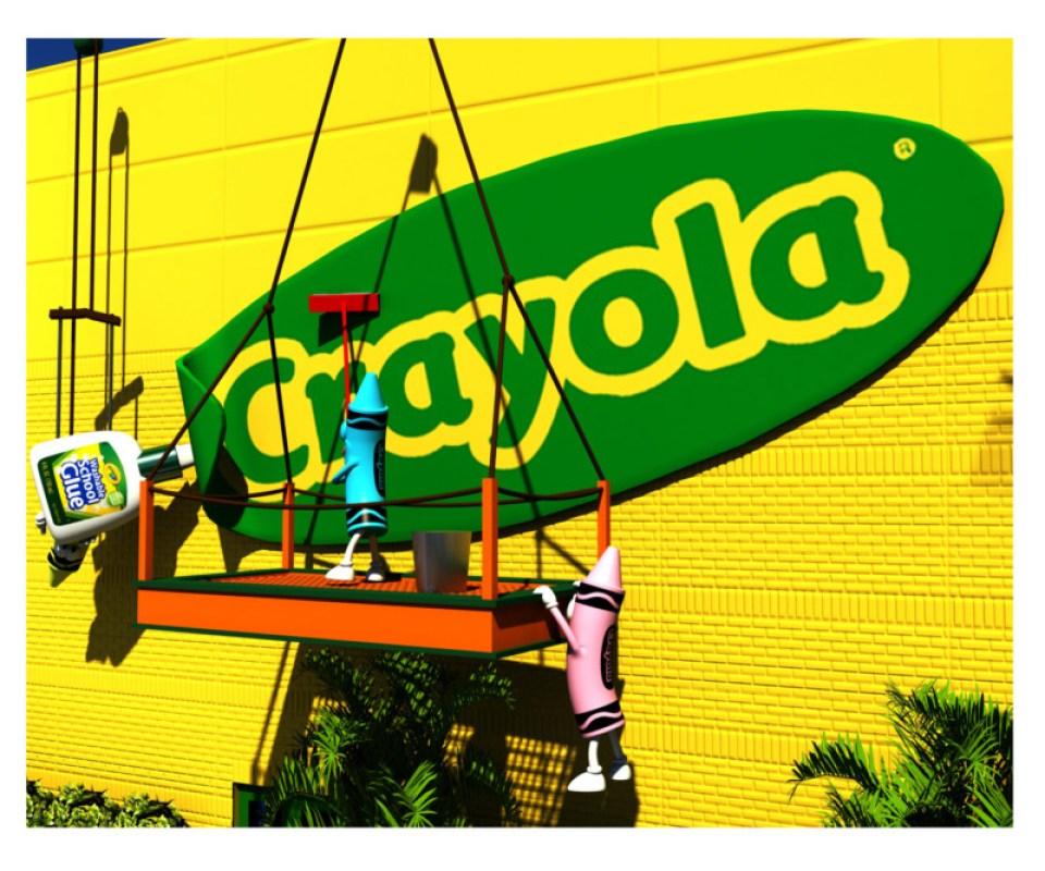 Exterior Crayola Logo