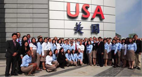 Student Ambassadors at the USAP