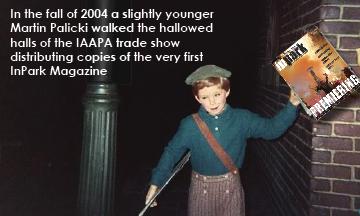 Martin at IAAPA