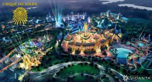 Cirque du Soleil resort and theme park at Nuevo Vallarta, Mexico