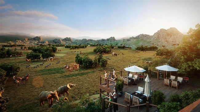 Chimelong Qingyuan International Forest Resort. Courtesy Chimelong Group.