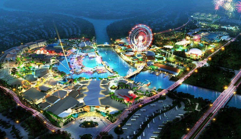 Haichang Dream World Sanya. Courtesy Haichang Polar Ocean Park.