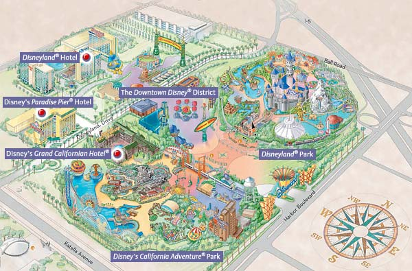 disneylandresortmap