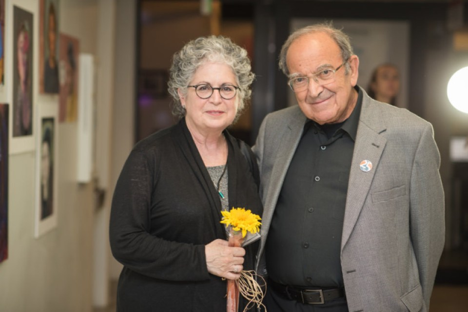 Facult Member Robin Palanker and Ryman Arts Co-Founder Marty Sklar